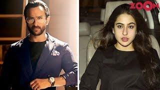 Saif Ali Khan Comes To Daughter Sara Ali Khan's Rescue For 'Kedarnath' & 'Simmba' - ZOOMDEKHO