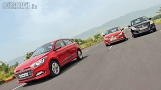 Hyundai Elite i20 vs Volkswagen Polo vs Suzuki Swift - Diesel Comparative Review