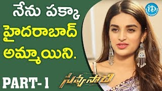 Savyasachi Actress Nidhhi Agerwal Exclusive Interview - Part #1 || Talking Movies With iDream - IDREAMMOVIES