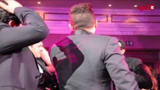 اتفرج .. مايا وحماقي يشعلان حفل زفاف