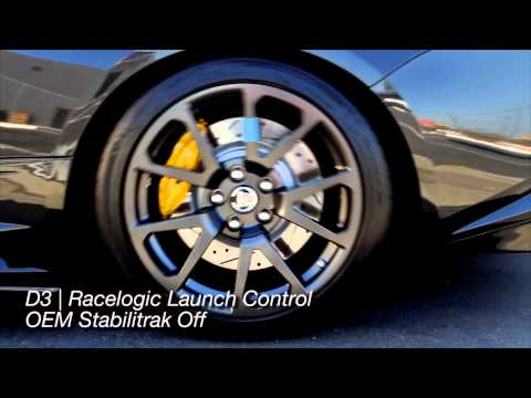 D3 Developed Racelogic Launch Control System