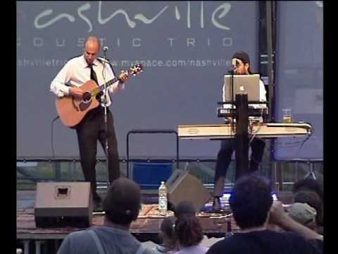 TAKE IT EASY (Eagles) by Nashville Acoustic Trio @ Rock in Trebbia 09