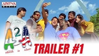 A2A (Ameerpet 2 America) Trailer #1 | A2A Telugu Movie | Rammohan Komanduri | Karthik Kodakandla - ADITYAMUSIC