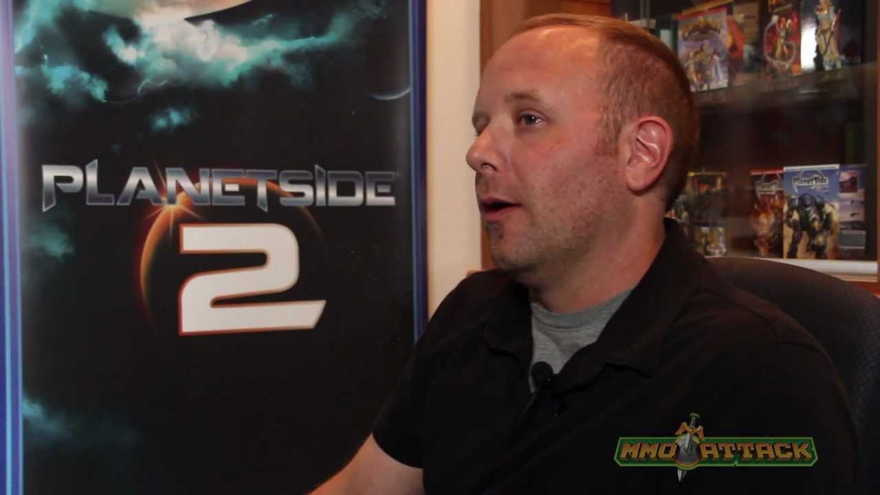PlanetSide 2 Developer Interview - Eric K