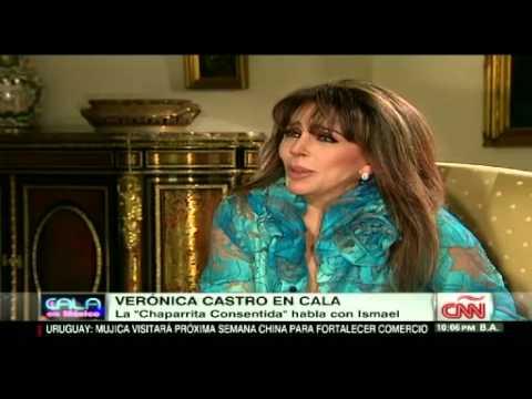 Entrevista con la actriz mexicana Verónica Castro en CALA CNN.