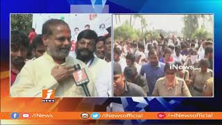 Tammineni Sitaram Face To Face On Last Day of YS Jagan Praja Sankalpa Yatra and Pylon Launch | iNews - INEWS