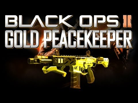 GOLD (DIAMOND) PEACEKEEPER! The Hybrid! (BO2 Weapons Advice and Tips)