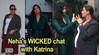 Neha Dhupia's WICKED chat with Katrina Kaif - IANSLIVE
