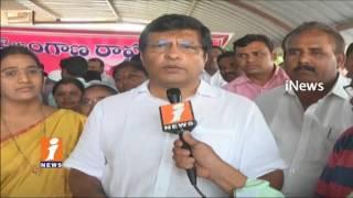 MLA Jalagam Venkat Rao Starts TRS Party Membership Drive In Lakshmi Devi Palli | Kothagudem | iNews - INEWS