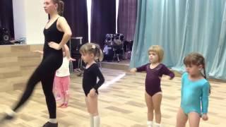 Дети: Танцевальная студии 3-4 года. Открытый урок-1. Дети