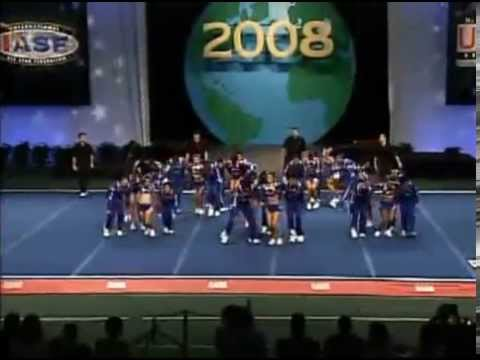 Espol Cheer Finals Large International Open Coed 2008 Cheer & Dance Worlds