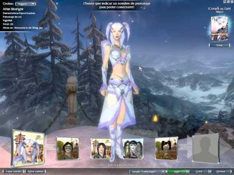 Mis personajas del Guild Wars!! ^^