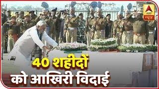 Bihar CM Nitish pays homage to martyrs Ratan Kumar & Sanjay Kumar Sinha - ABPNEWSTV
