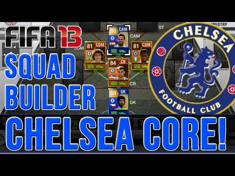 FIFA 13 Ultimate Team - TOTS & MOTM CHELSEA CORE! 2.3 Million Coin Squad Builder!