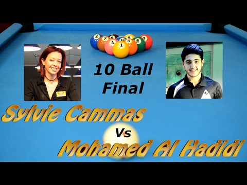 10 Ball Final - Sylvie Cammas Vs Mohamed Al Hadidi - TQ Toulouse 29.01.2017