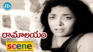 Ramalayam Movie Scenes - Roja Ramani Meets Jamuna In Temple || Shobhan Babu || Vijaya Nirmala - IDREAMMOVIES