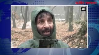 जंगली जीव अधिकारियों ने कश्मीरी हिरणों के लिए किया खास खाने का प्रबंध