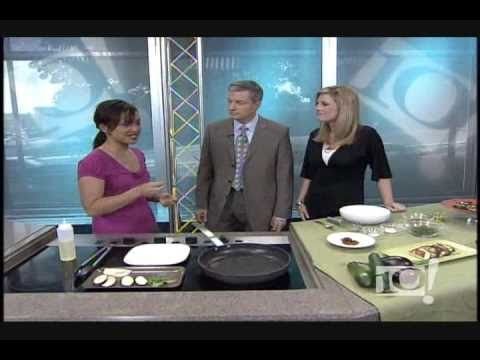 Chef Christina Dimacali on NBC 10 Philadelphia June 2009
