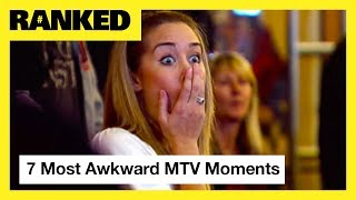 7 Awkward AF Moments from 'Jersey Shore', 'Catfish', 'The Challenge' & More! | MTV Ranked - MTV