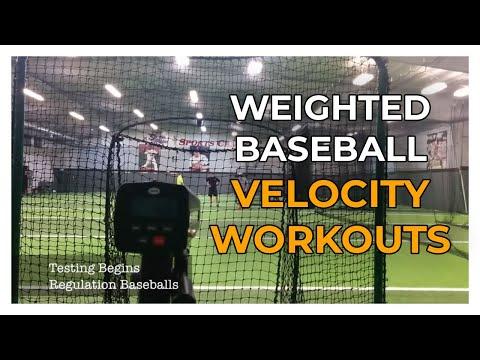 Weighted Baseball Velocity Workouts - 103 MPH   Driveline Baseball