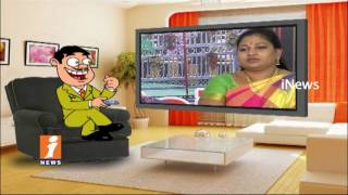 Dada Satires On TDP MLA Anitha Over Her Comments On YSRCP Women MLAs | Pin Counter | iNews - INEWS