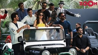 Total Dhamaal Trailer Launch Event | Ajay Devgn, Anil Kapoor, Madhuri Dixit, Arshad | Bolly Quickie - ZOOMDEKHO