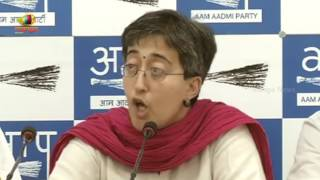 AAP Leader Atishi Marlena Press Brief Over Funding Issues Of Congress and BJP Party | Mango News - MANGONEWS