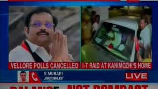 I-T Raid in DMK Leader and Tuticorin Candidate Kanimozhi Home; No Cash Recovered - NEWSXLIVE