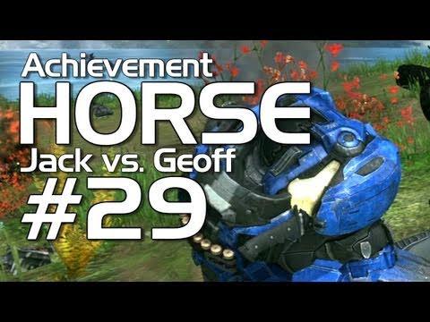 Halo: Reach - Achievement HORSE #29 (Jack versus Geoffrey)
