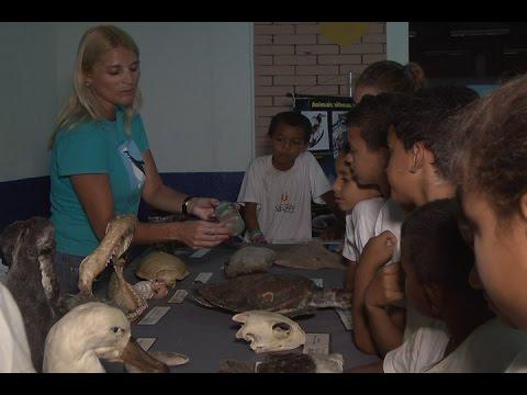TV Costa Norte - Semana da Biodiversidade agrada a criançada do Caruara