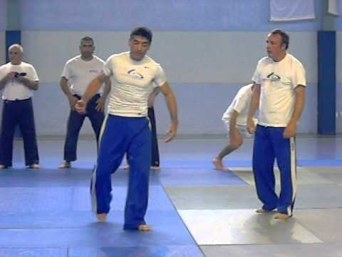 Yoseikan sparring avec Mario Ambrosini à Carmaux
