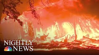 Wildfires Leaves Paradise, California Unrecognizable | NBC Nightly News - NBCNEWS