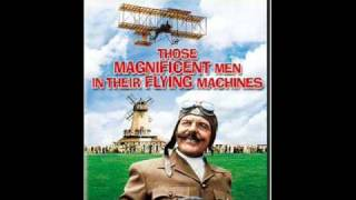 Those magnificent men and their flying machines lyrics
