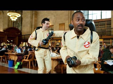 Who you gonna call when you can't call Hollywood?