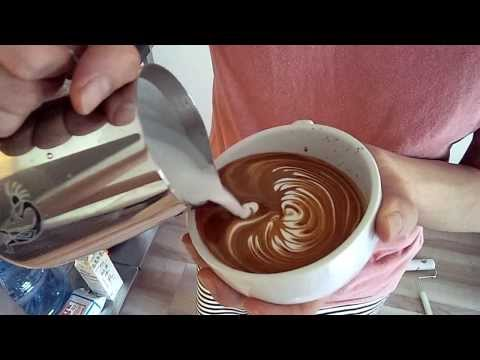 Latte art like Tulip 2011 7 23