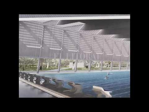 En el verano funcionará la nueva pileta en el Parque Garay