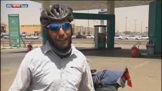 «ابن بطوطة التركي» يطوف العالم على دراجته