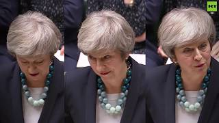 Tough crowd: How many jeers did Theresa May receive in her Brexit deal delay statement? - RUSSIATODAY