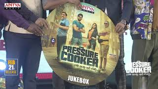 Pressure Cooker Cd Launch @ Pressure Cooker Movie Pre Release Event | Sai Ronak, Rahul Ramakrishna - ADITYAMUSIC