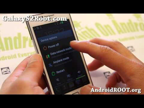 How to Root Galaxy S2 GT-i9100 Jelly Bean Android 4.1.1/4.1.2!