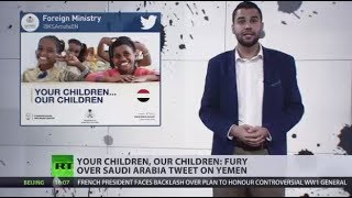 'Living Hell': UN warns of imminent risk for children in Yemeni port - RUSSIATODAY