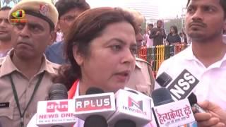 BJP MP Meenakshi Lekhi About Yoga Benefits During International Yoga Day | Mango News - MANGONEWS