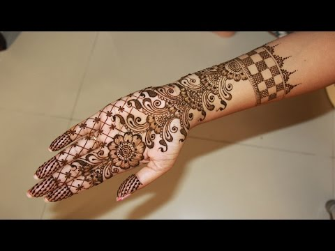 Full Hand Bridal Henna/Mehndi Designs Tutorial