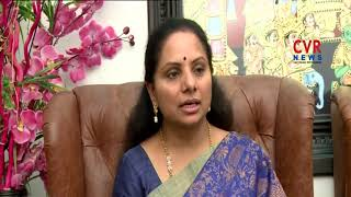 MP Kavitha Speaks over Monsoon Parliament Sessions | CVR NEWS - CVRNEWSOFFICIAL