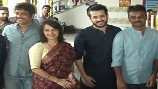 Akhil Akkineni - Bommarillu Bhaskar - GA2 production no.5 movie launch - idlebrain.com - IDLEBRAINLIVE