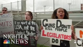 Students Seize Control Of Gun Debate, Plan Walkouts And March | NBC Nightly News - NBCNEWS