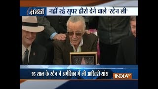 Stan Lee passes away at 95 - INDIATV