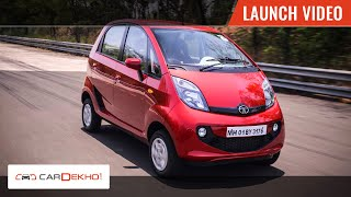Tata Nano GenX | Launch Video | CarDekho.com