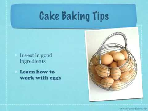 Cake Baking Tips For Beginners