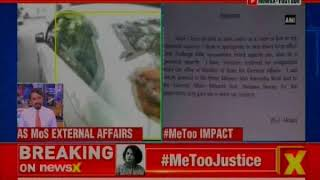 #MeToo Justice: MJ Akbar resigns as MoS external affairs - NEWSXLIVE